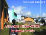Village Visited by Swami in 1961
